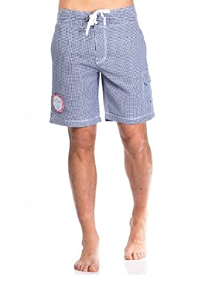 Pepe Jeans London Badeshorts Hanlon blau/weiß L