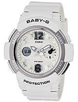 Casio Baby-G Analog-Digital White Dial Women's Watch - BGA-210-7B1DR (BX046)