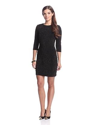 Alexia Admor Women's Glitter Dress (Black/Gold)