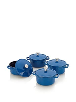 Fagor Michelle B. Mini Dutch Ovens with Lid (Blue)