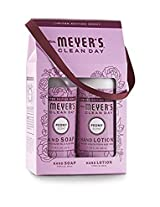 Mrs. Meyers Clean Day Limited Edition Peony Scent Gift Box Hand Soap and Hand Lotion