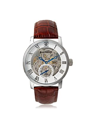 Earnshaw Men's 8041-02 Westminster Brown/White Stainless Steel Watch