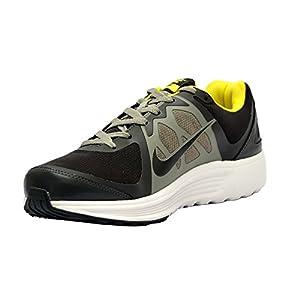 Nike Men's Emerge Newsprint,Sonic Yellow,Menon Grey  Running Shoes -9 UK/India (44 EU)(10 US)