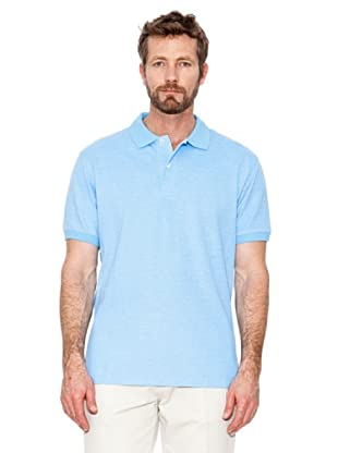 Cortefiel Polo Oxford (Blau)