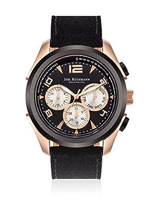 Joh. Rothmann Reloj de cuarzo Max Multifunction Negro 46 mm