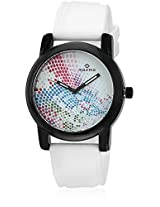 E-28806Pagb White/Multi Analog Watch Maxima