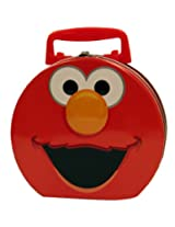The Tin Box Company 645407-12 Elmo Hat Box Carry All Tin
