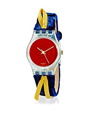 Swatch Reloj de cuarzo Cord On Bleu LG114  25 mm
