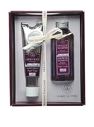 Erbario Toscano Royal Grape 2-Piece Shower Shampoo & Hand Cream Gift Set