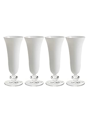 Pasabahce Set 4 Calici Flute Sophia (Bianco)