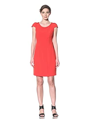 Chetta B Women's Short Sleeve Dress (Red)