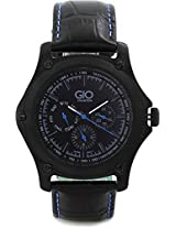 Gio Collection Analog Black Dial Men's Watch - G0072-05