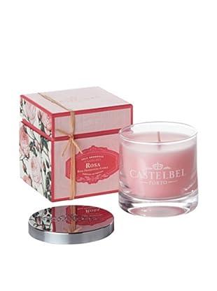 Castelbel 8-Oz. Rose Candle In Glass Vessel