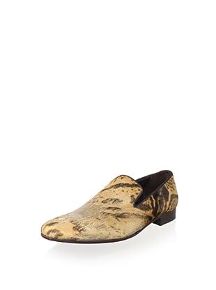 Donald J Pliner Men's Varden Loafer (Camel Exp/Expresso)