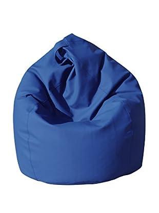 Sitzsack blau 70 x 110 cm