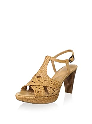 Rockport Women's Audry Woven Sandal (Biscotti)