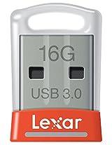 Lexar JumpDrive S45 16GB USB 3.0 Flash Drive - LJDS45-16GABNL (Orange)