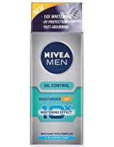 Nivea Men Oil Control Moisturiser (10X whitening), 50ml