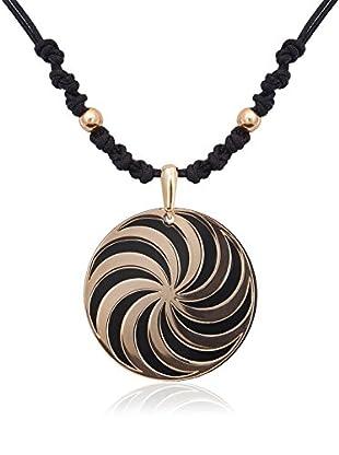 PHILIPPE VANDIER Set Halskette und Anhänger Espiral