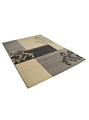 ABC Tappeti Alfombra Patch (Marfil/Gris)