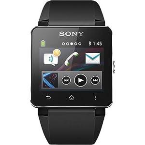 Sony SW2 Digital Dial Unisex Watch (Black)