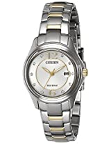 Citizen Analog Silver Dial Women's Watch - FE1134-54A
