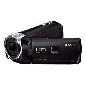 Sony HDR-PJ240E Full HD 29.8mm Wide-Angle Lens Handycam Camcorder with Built in Projector (BLACK)