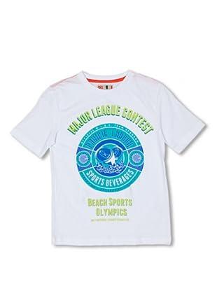 CKS Kids BOYS Camiseta Agate (Blanco)