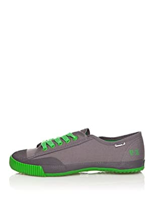 Shulong Zapatillas Shustreet Low Plus (Gris / Verde)
