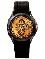 Police Striker Analog Gold Dial Men's Watch 11425JSB/22