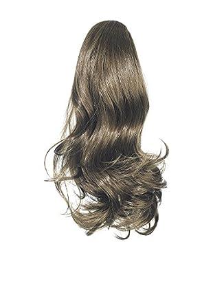 Love Hair Extensions Kunsthaar-Pferdeschwanz Percilla mit Krokodilklemme 40cm 6 Dark Ash Brown