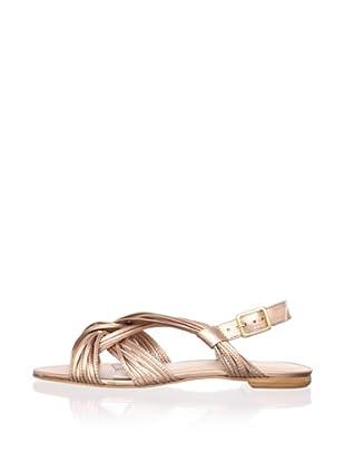 Loeffler Randall Women's Filippa Ankle-Strap Sandal (Rose Gold)