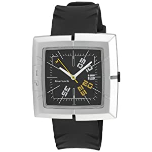 Fastrack Economy 2 Analog Black Dial Men's Watch - NC749PP02