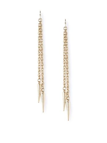Jules Smith Gold Zoey Bullet Earrings