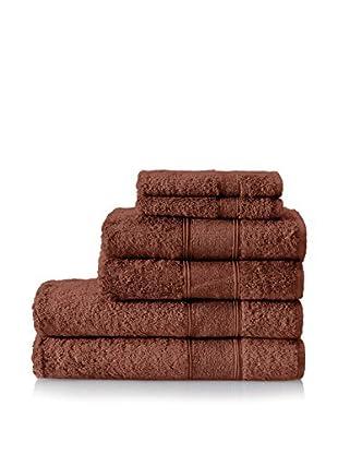 Mirabello Carrara Luxor 6-Piece Towel Set