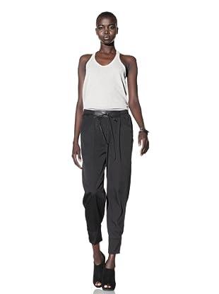 Improvd Women's Sadie Slouchy Drawstring Pant (Black)