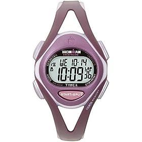 【クリックで詳細表示】[タイメックス]TIMEX 腕時計 アイアンマン トライアスロン 50ラップ スリーク ミッドサイズ T5K007 レディース [正規輸入品]