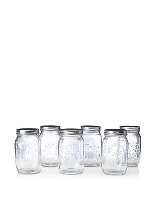 Home Essentials Preserving Essentials Set of 6 Canning Jars