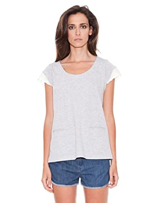 Women secret Camiseta Mc Rosebloom (Gris Oscuro)