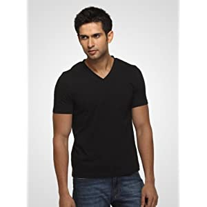 FREECULTR - Core V Neck T-Shirt | X Large | Black