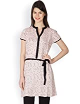 Ayaany Women PINK Cotton Printed Kurta
