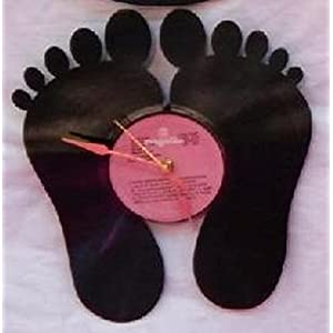 Samaya Feet Designed Wall Clock