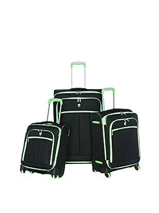 Olympia O-Tron 3-Piece Luggage Set, Lime