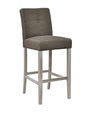 Classic Home Malone Barstool, Grey/Brown