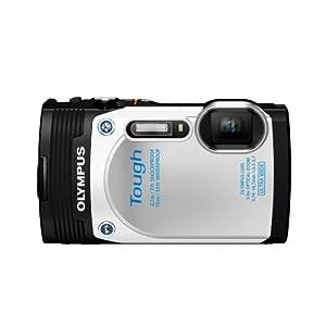 Olympus  Stylus TG-850 IHS 16 MP Digital Camera (White)