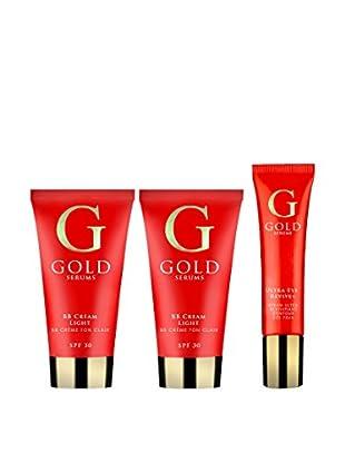 Gold Serums Eye Cream Frische-BB Light x2 + Serum Revitalizing Eye Contour Ultra-Eye Revive +
