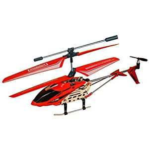 Modelart - 3.5 Channel I/R Helicopter R/C Digital Proportional Control with USB charger, Orange
