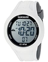 Quiksilver Digital White Dial Men's Watch - QS-1018-WTGY