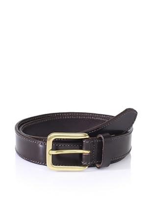The British Belt Company Men's Wing Belt (Brown)