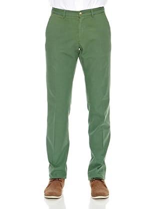 Titto Bluni Pantalón Regular Vicent (Verde)